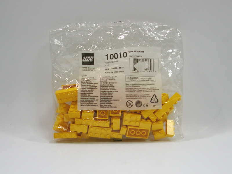 #10010 レゴ 黄色ブロック