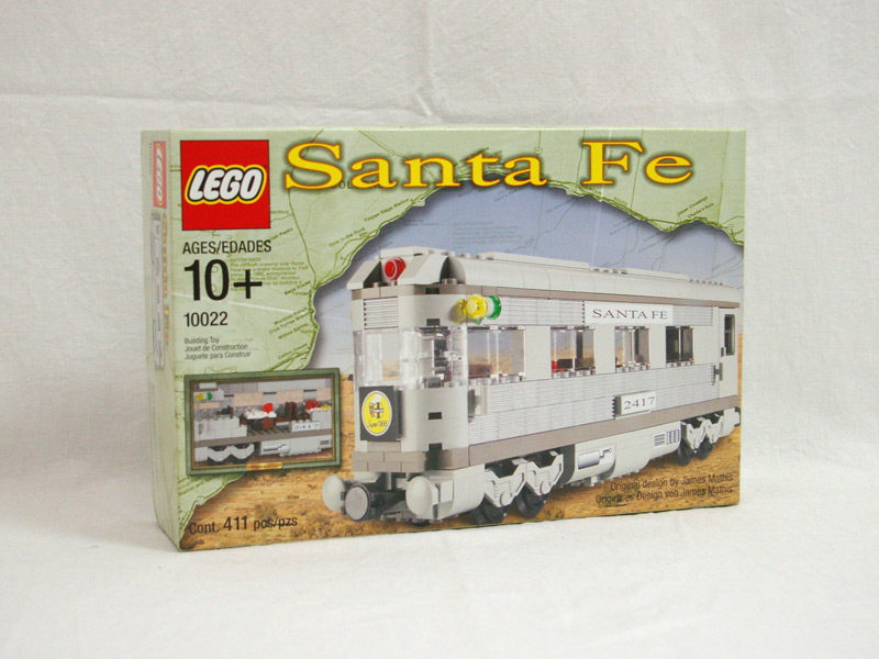 #10022 レゴ サンタフェ客車2