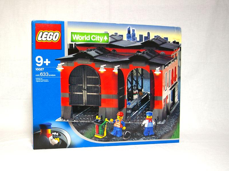 #10027 レゴ 列車庫