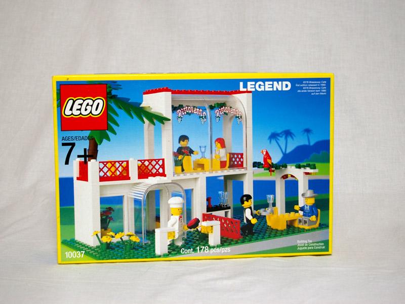 #10037 レゴ イタリアンレストラン