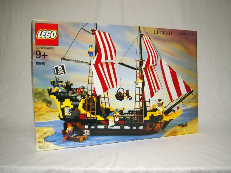 #10040 レゴ バラクーダ号
