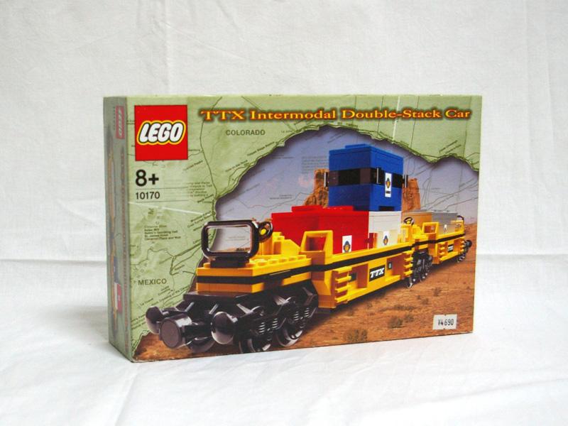 #10170 レゴ ダブルスタックコンテナ車