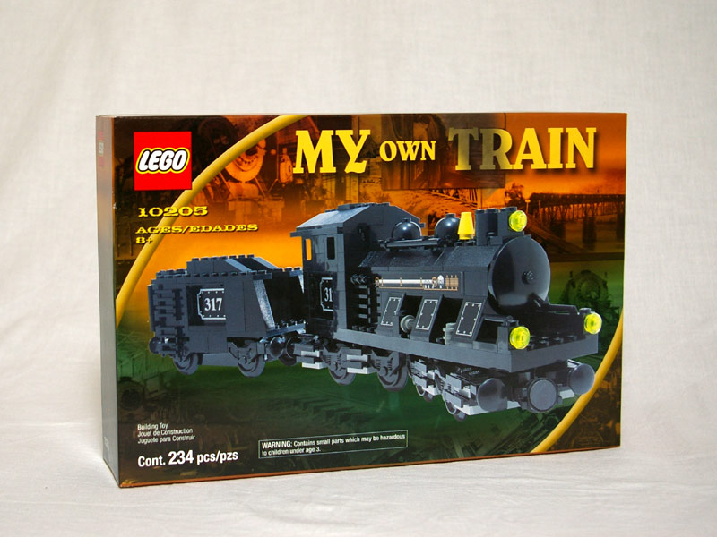 #10205 レゴ 蒸気機関車