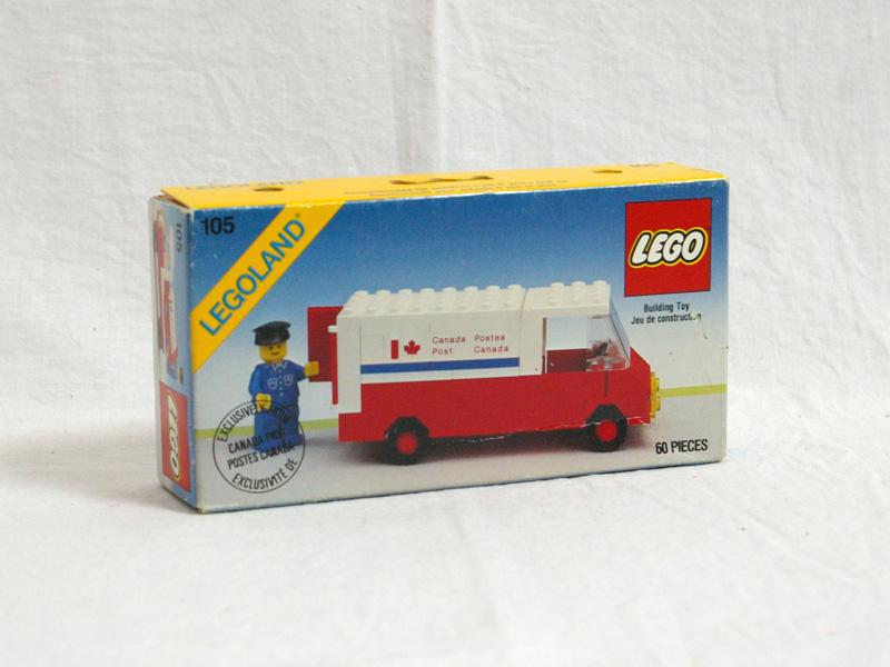 #105 レゴ カナダポストの郵便トラック