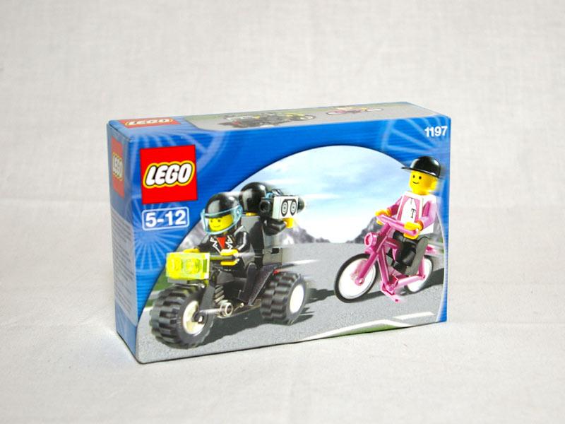 #1197 レゴ レーサーとカメラマン