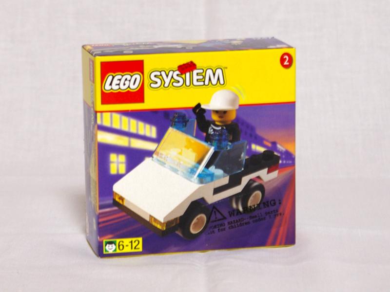 #1247 レゴ パトカー