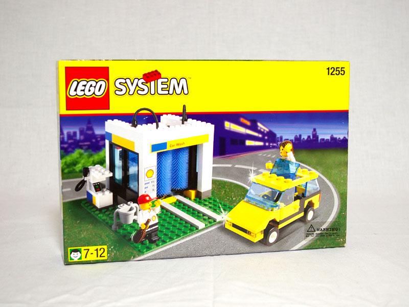 #1255 レゴ シェル洗車機