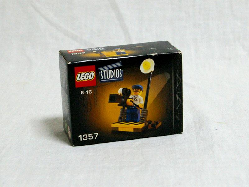 #1357 レゴ カメラマン