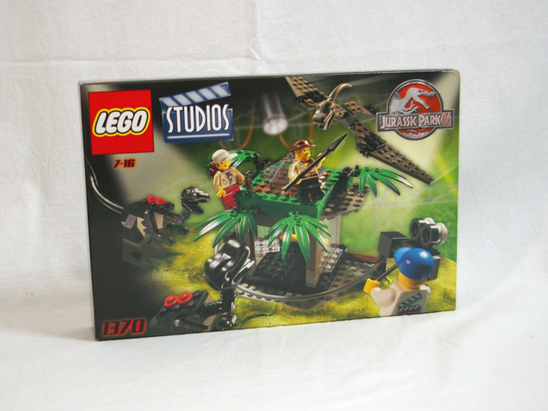 #1370 レゴ ダイノの逆襲スタジオ