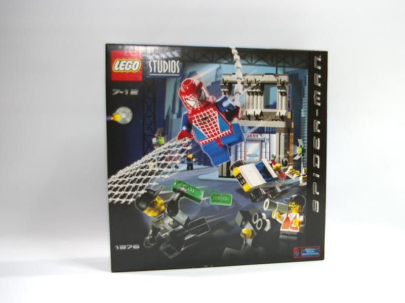#1376 レゴ スパイダーマン・アクションスタジオ