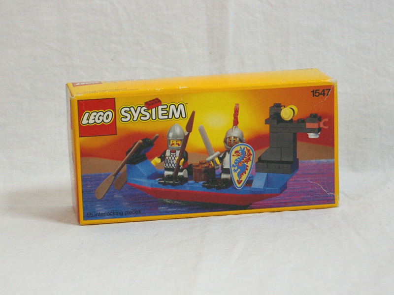 #1547 レゴ ブラックナイトのボート