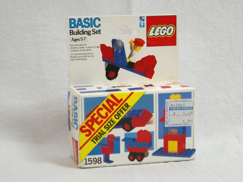 #1598 レゴ 基本セット