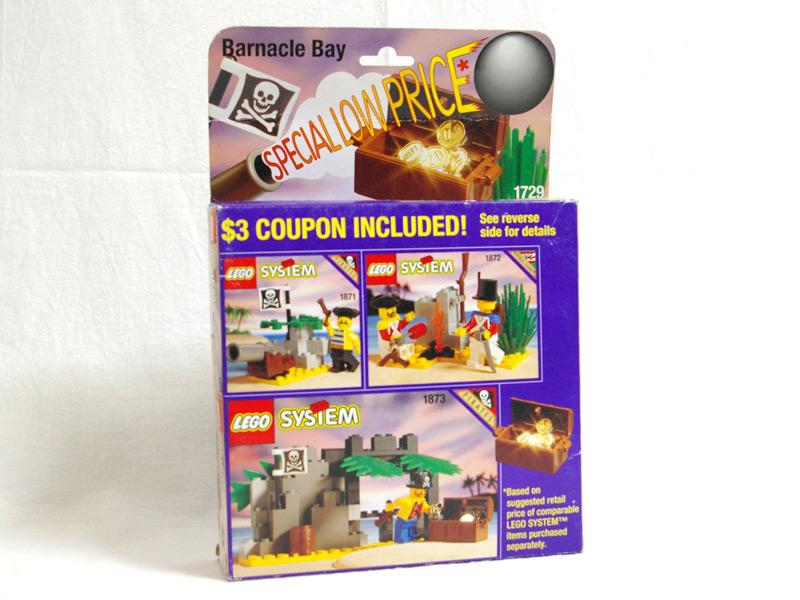 #1729 レゴ 南海の勇者バリューパック