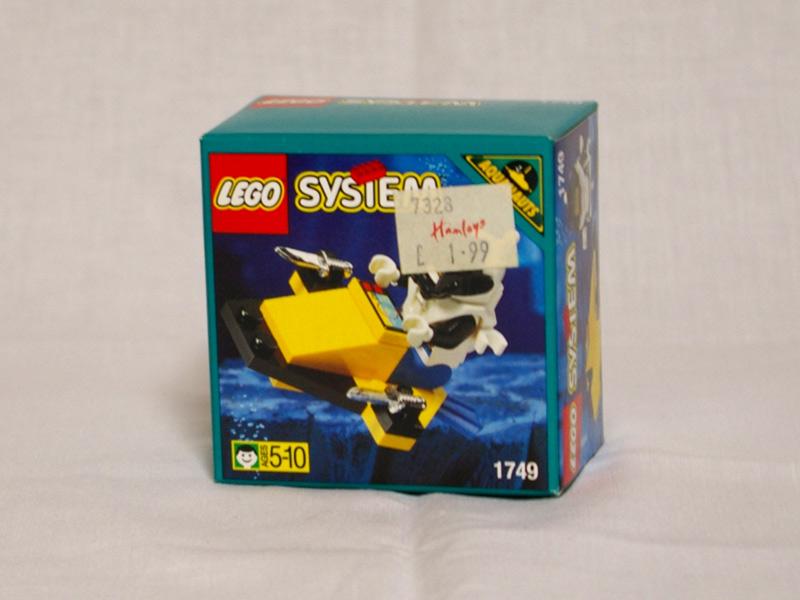 #1749 レゴ 水中スクーター