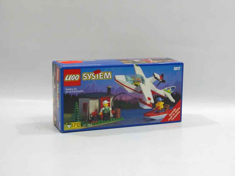 #1817 レゴ 水上飛行機と小屋