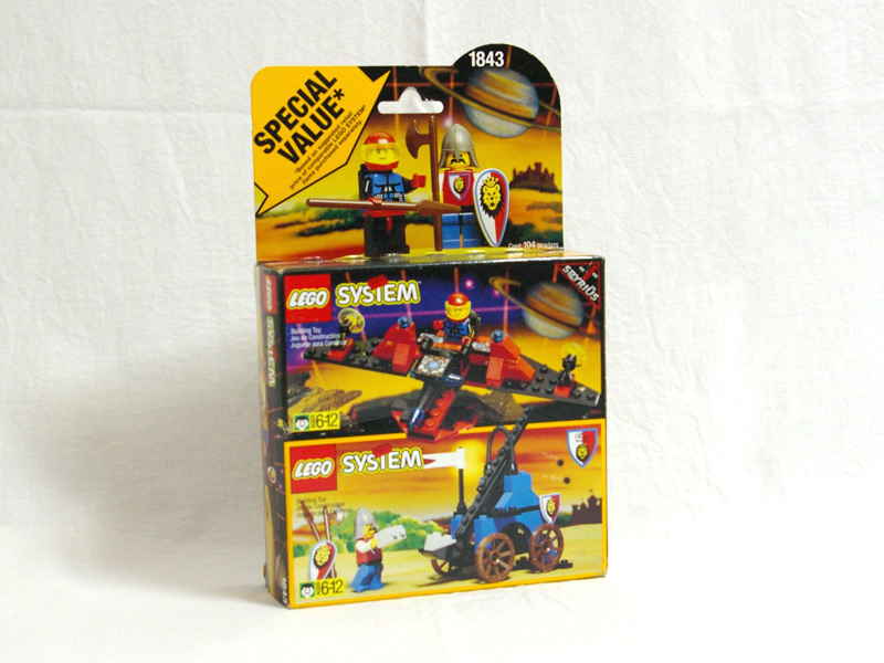 #1843 レゴ バリューパック 宇宙シリーズとお城シリーズ