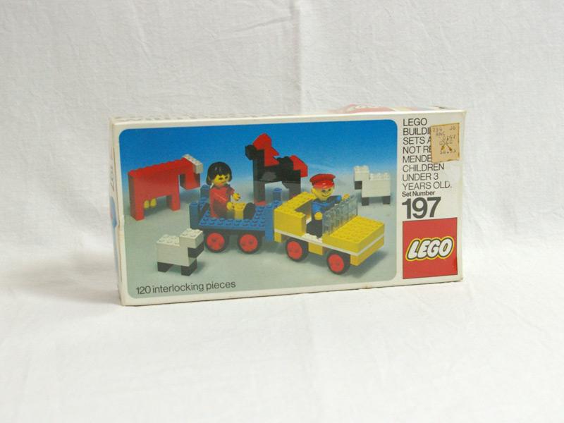 #197 レゴ 農場の乗り物と動物