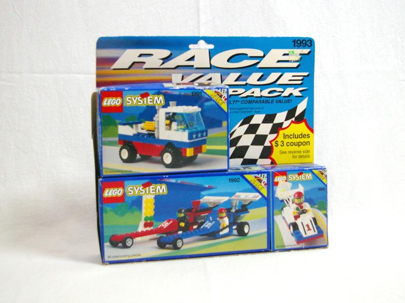 #1993 レゴ レースバリューパック