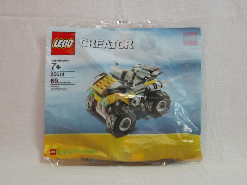 #20014 レゴ 4x4バギー