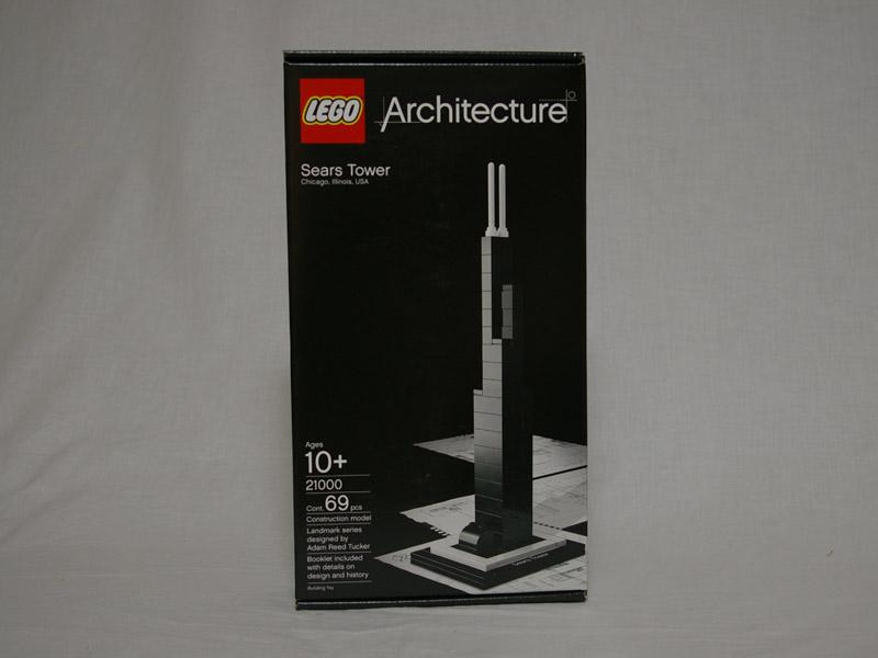 #21000 レゴ シアーズタワー