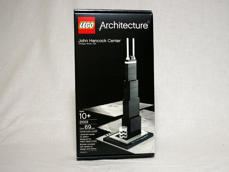 #21001 レゴ ジョン・ハンコックセンター