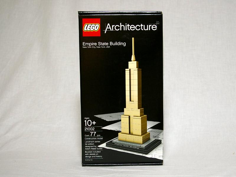 #21002 レゴ エンパイヤーステートビル