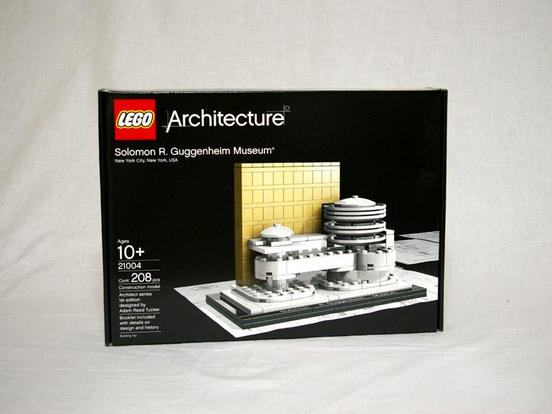 #21004 レゴ グッゲンハイム美術館