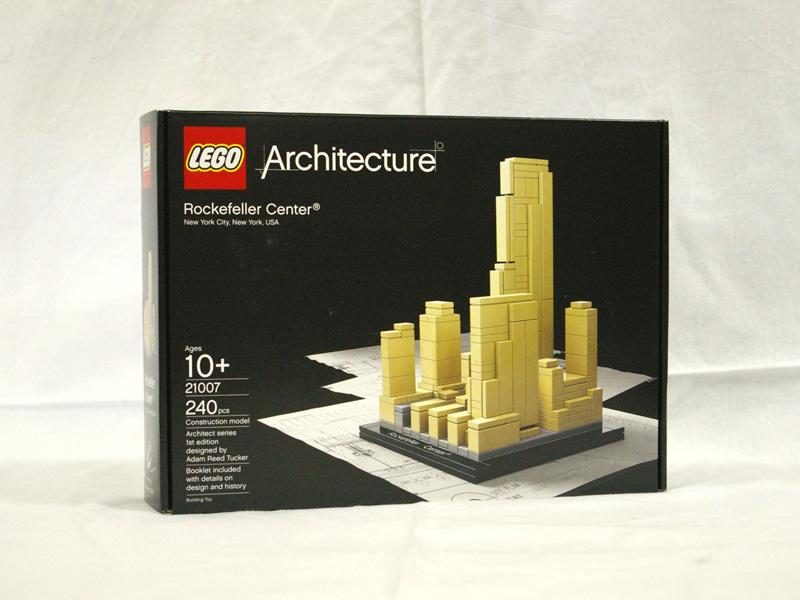 #21007 レゴ ロック フェラー センター