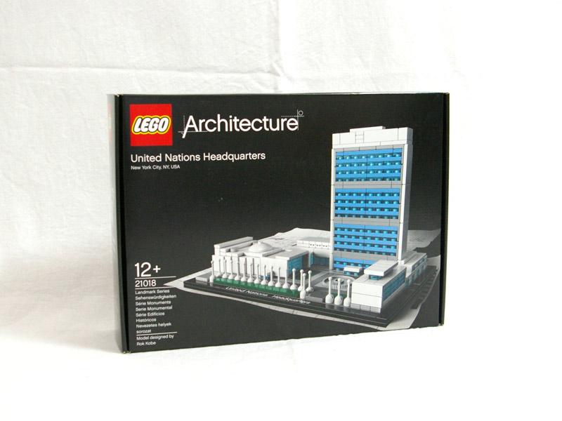 #21018 レゴ 国際連合本部ビル