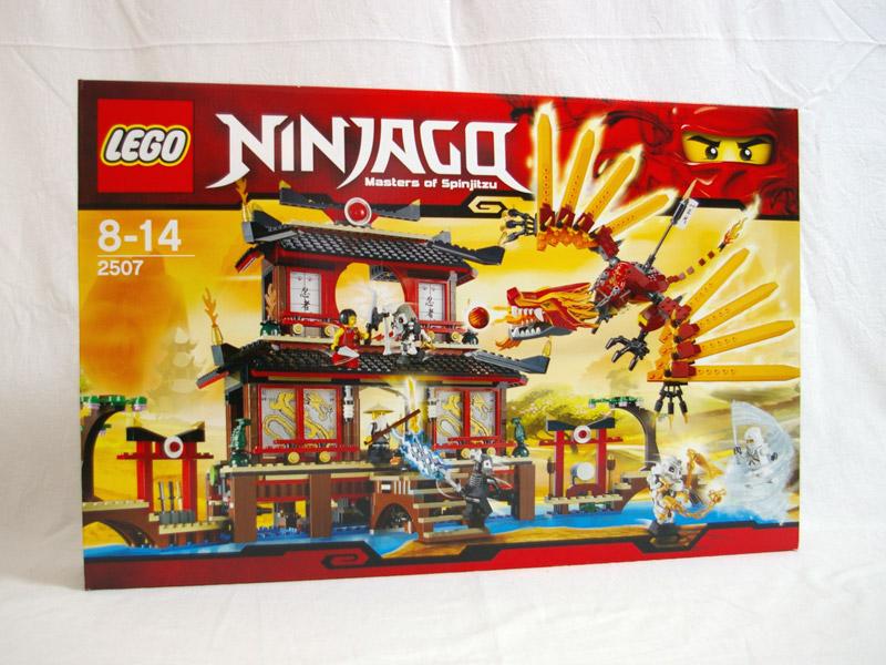 #2507 レゴ ファイヤー神殿