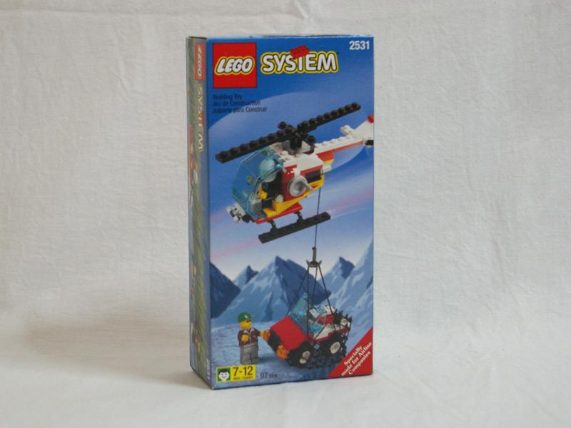#2531 レゴ 救助ヘリコプター