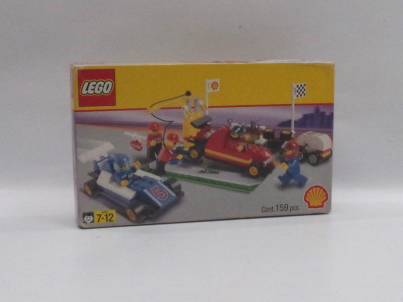 #2554 レゴ F1ピットストップ