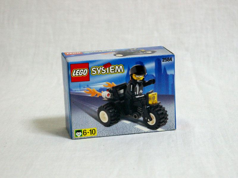 #2584 レゴ バイカーボブ
