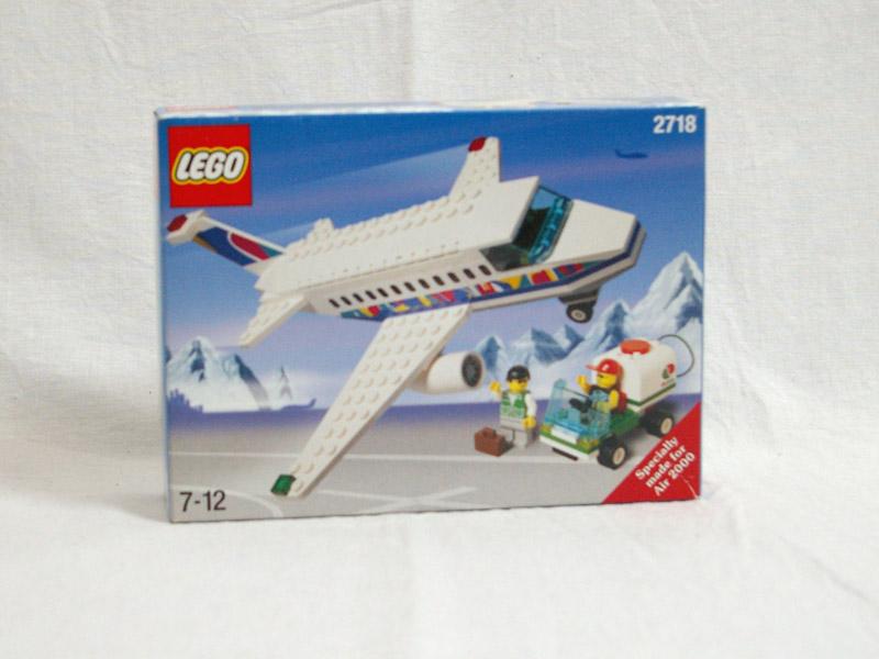 #2718 レゴ 飛行機と地上スタッフ