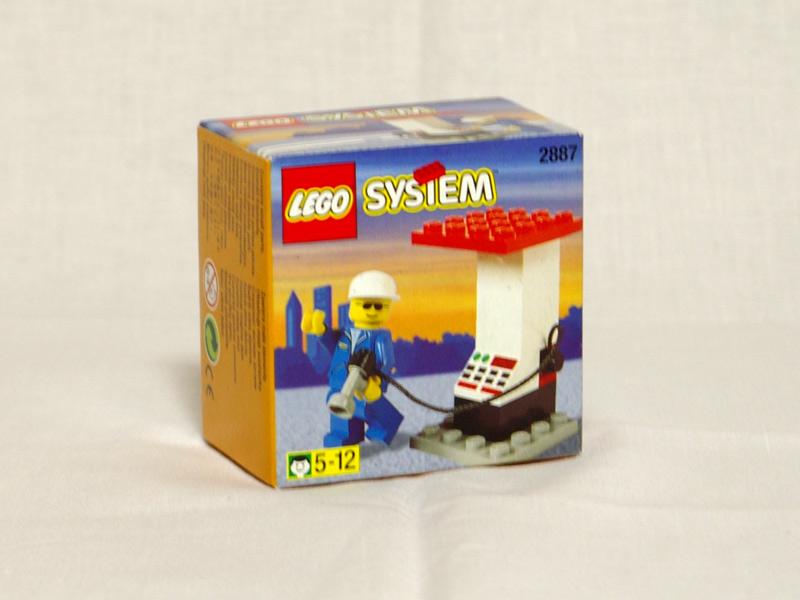#2887 レゴ ガソリンスタンド