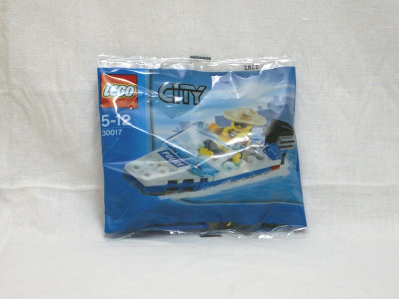 #30017 レゴ ポリスボート