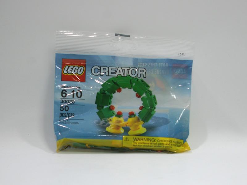 #30028 レゴ クリスマスリース