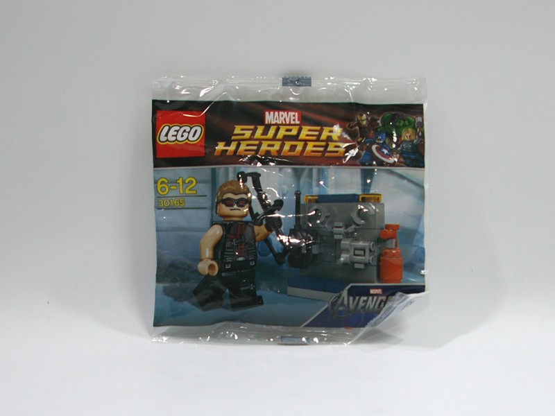#30165 レゴ ホークアイと武器