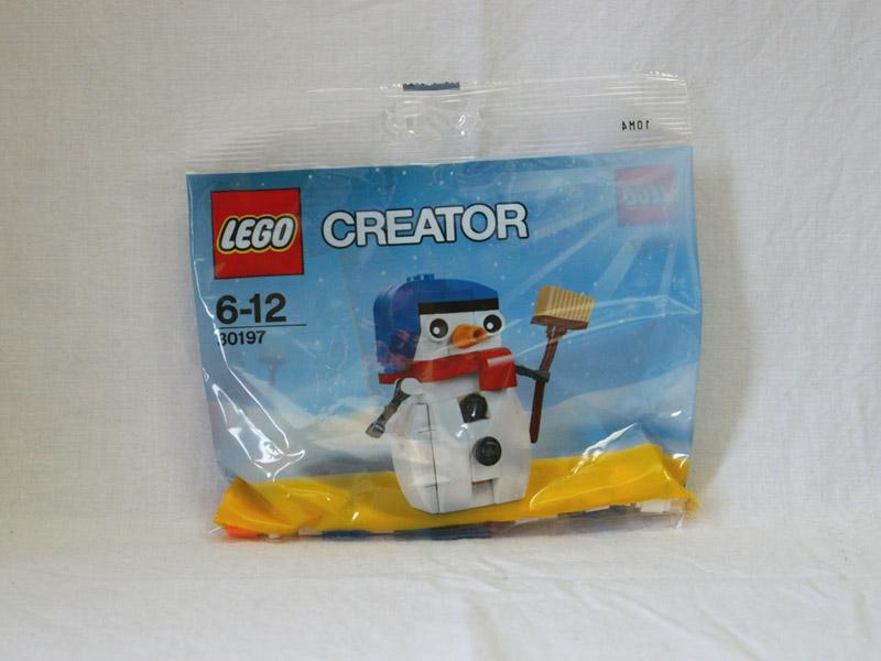#30197 レゴ 雪だるま