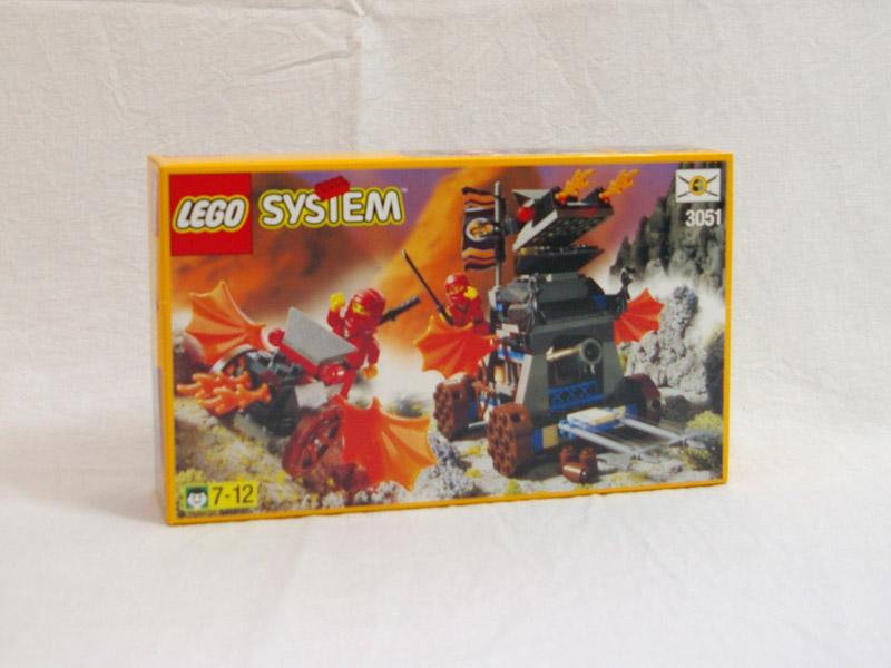 #3051 レゴ 赤ニンジャのドラゴンカート