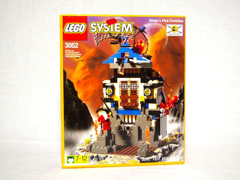 #3052 レゴ 赤ニンジャの砦