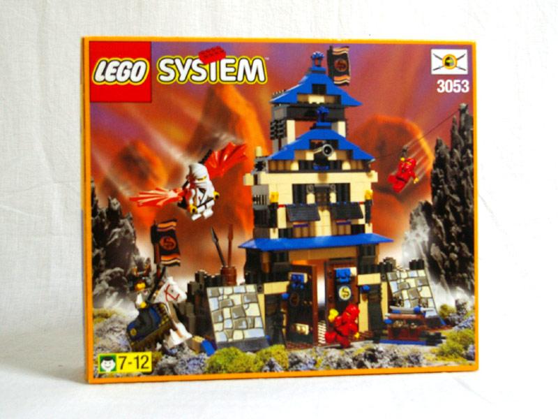 #3053 レゴ 赤ニンジャとショーグンの城