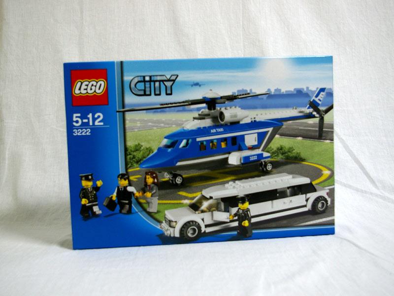 #3222 レゴ ヘリコプターとリムジン
