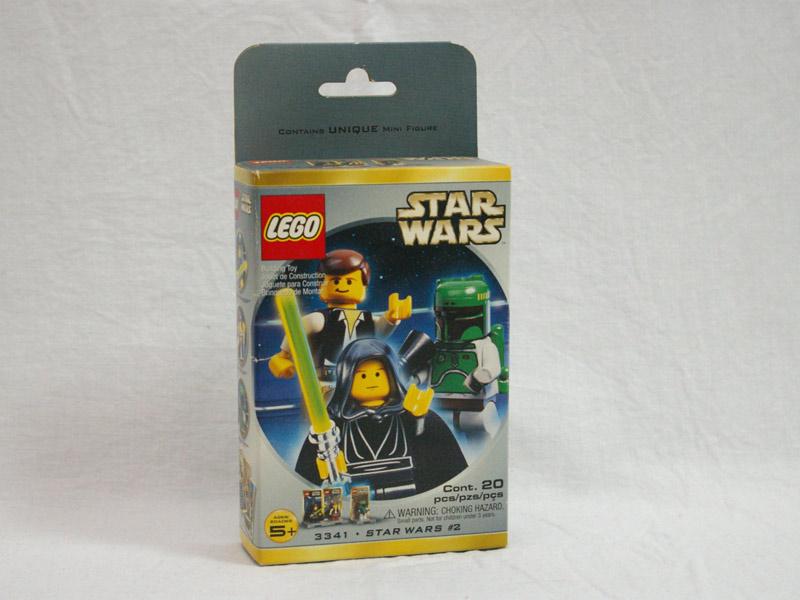 #3341 レゴ ルーク・ハン・ボバ ミニフィグパック