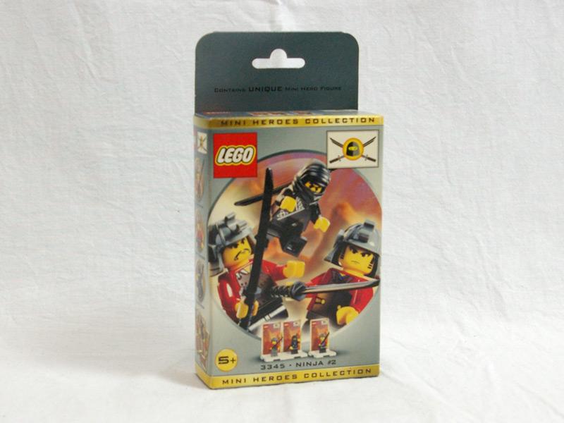 #3345 レゴ ニンジャミニフィグパック2