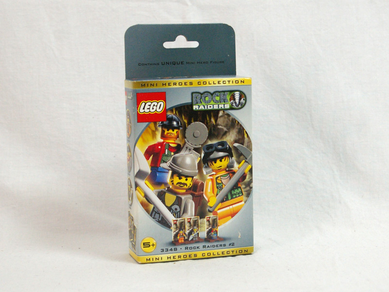 #3348 レゴ ロックレイダーズミニフィグセット