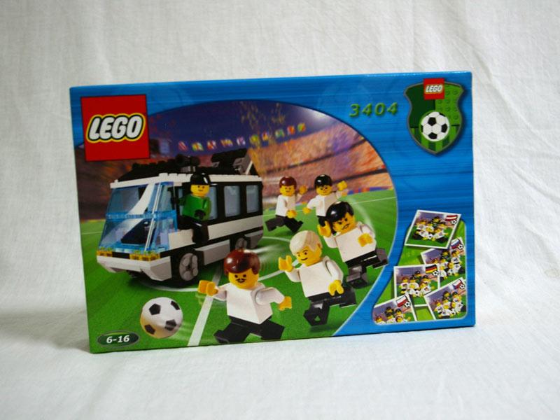 #3404 レゴ ナショナルチーム・バス(黒)