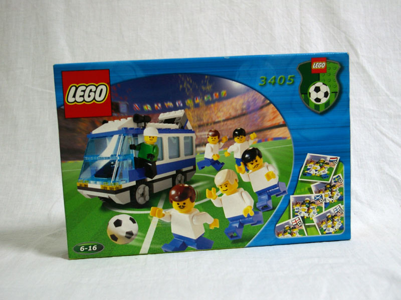 #3405 レゴ ナショナルチーム・バス(青)
