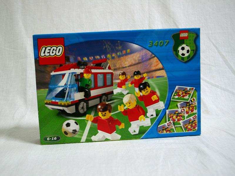 #3407 レゴ ナショナルチーム・バス(赤)
