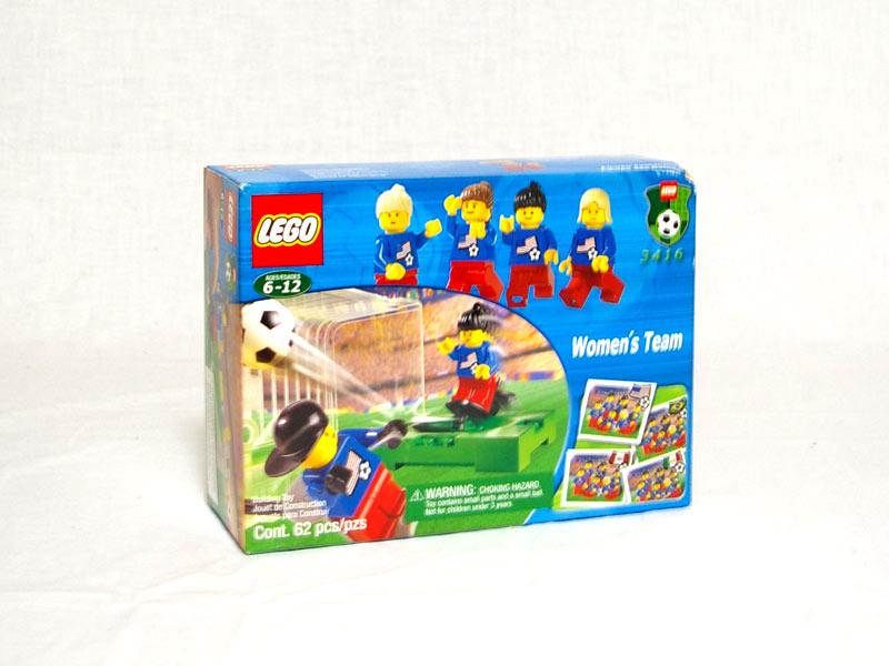 #3416 レゴ 女子サッカーチーム